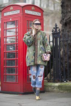 Pin for Later: Das ist schon jetzt der wohl beliebteste Schuh der Saison London Fashion Week