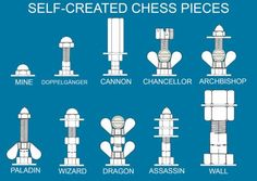 Fairy Chess Pieces by retro-gamer on DeviantArt Welding Art, Welding Projects, Wood Games, Nerd Crafts, Scrap Metal Art, Retro Gamer, Chess Pieces, Outdoor Projects, Metal Working