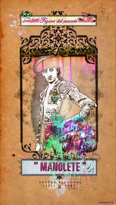 Image via lemon2jul Love Art, Vintage Posters, Creations, Symbols, Illustration, Spanish, Painting, Costume, Image