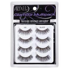 Ardell Eyelash 105 Multipack Black 4pr