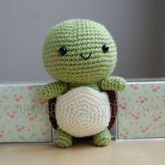 Turtle Gurumi Crochet Pattern van LuvlyGurumi op Etsy, $4.00