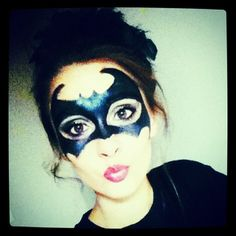 #Batman #makeup