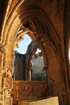"""With its mountain setting, Gothic archways and sense of tranquillity, Bellapais Abbey is truly enchanting."" North Cyprus: the Bradt Guide; http://www.bradtguides.com"