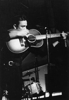 """mattybing1025: """" """"Johnny Cash photographed by Brian Smith in Manchester, UK at the Astoria Irish Club, October 10, 1963."""" """""""