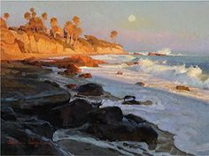 Evening Glow Laguna Beach by Calvin Liang