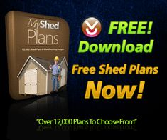 Get Over 12,000 Storage Shed Plans & Build It Yourself