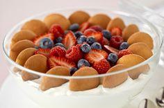 Vanilla-Berry Trifle in a Cloud Recipe