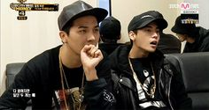 Mino and Jae feelin' it
