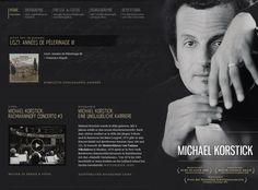 Great example of musician website #webdesign http://www.michaelkorstick.de/