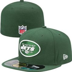 ffd79f9191b NFL Mens New York Jets On Field 5950 Green Game Cap By New Era (6