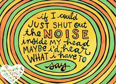 doodle by aimee of artsyville featured on all i did was listen Great Quotes, Inspirational Quotes, Inside Me, What Inspires You, Listening To You, Critical Thinking, Woman Quotes, True Stories, Quotations