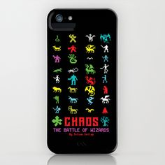 Chaos iPhone & iPod Case by Slippytee Clothing - $35.00 Retro Videos, Retro Video Games, Apple Watch, Ipod, Gaming, Iphone Cases, Clothing, Gifts, Outfit