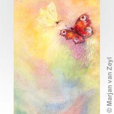Butterfly world by Marjan van Zeyl