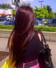 auburn hair Dark Red Hair, Burgundy Hair, Maroon Hair, Dye My Hair, New Hair, Pelo Color Vino, Hair Color And Cut, Hair Colour, Auburn Hair