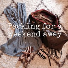 Consume or Consumed: Weekend Packing List