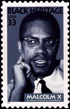 postage stamps of malcolm x Malcolm X, By Any Means Necessary, African Diaspora, African American History, American Art, Before Us, Black History Month, Stamp Collecting, History Facts