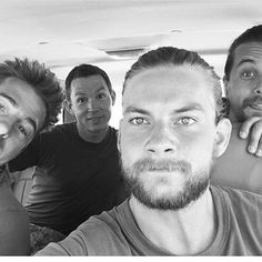 Last day with these punks #Cody's #AnimalKingdom #Behindthescenes #Selfie cred…