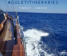 it's a good time to start looking at #guletitineraries in #turkey #greece for your next #bluecruise #vacation :) -