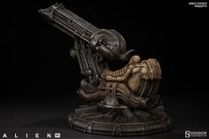 New transmission – Sideshow's H.R Giger Alien Space Jockey Maquette unveiled | Sideshow Collectibles