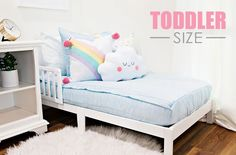 A toddler Beddy's will help your littles love their very first experience with a big girl or big boy bed. Beddy's will keep them tucked in nice, snug and comfy as they drift off to dreamland. Beddys Bedding, Zipper Bedding, Make Your Bed, Blue Bedding, Kid Beds, Daydream, Pillow Cases, Toddler Bed, Bedroom Decor