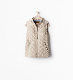 ZARA - SALE - ZIPPED QUILTED VEST