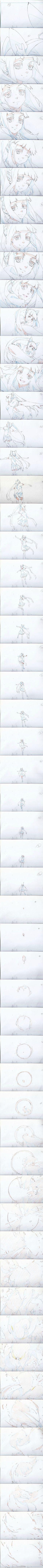 由工作室原画师@小巍TT 绘制的《撸时代...: