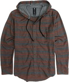Billabong slammer hooded long sleeve flannel http://www.swell.com/Mens-Shirts/BILLABONG-SLAMMER-HOODED-LS-FLANNEL?cs=RE