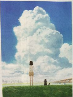 Kanojo to Kanojo no neko bekommt TV Anime Adaption im März Tv Anime, Anime Base, Neko, She And Her Cat, Makoto, Galaxy Movie, Super Anime, Otaku, One And Only