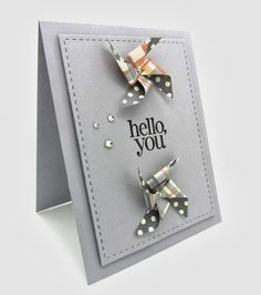 """""""A sketched Pin Wheel Card"""" using the Stampin' Up! retired Pinwheel sizzlets dies and Regarding Dahlias Stamp Set."""