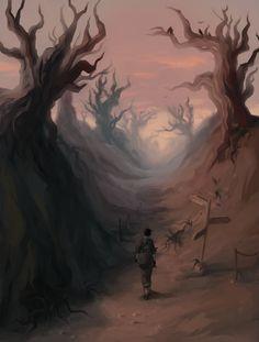 The haunting Molag Amur, Morrowind. ES III