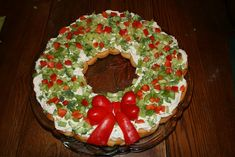 https://flic.kr/p/7pyAJT | appetizer wreath | I used this recipe with a few changes. It was very good and looked pretty on the table. www.tasteofhome.com/Recipes/Appetizer-Wreath My version here: christmasnotebook.com/2009/12/22/appetizer-wreath/.