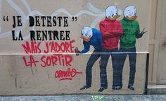 enlèvement graffiti street-art, Combo culture kidnapper