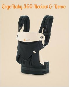 Mom Review and Demonstration: Ergo Baby 360 Carrier | MomTrends