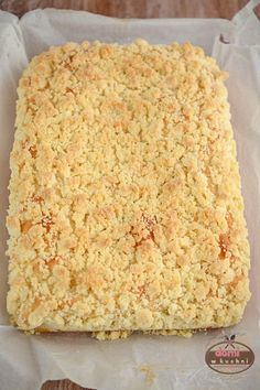 Ciasto drożdżowe z kruszonką - #ciasto #drożdżowe #kruszonk #kruszonką Polish Recipes, Polish Food, Macaroni And Cheese, Sweet Treats, Cheesecake, Food And Drink, Appetizers, Ethnic Recipes, Desserts