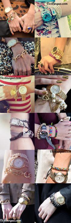 Mix de relojes y pulseras