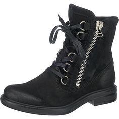 #MJUS #Damen #Cafe #Stiefeletten #schwarz Diese MJUS Cafe Stiefeletten werden durch den lässigen Boots-Look zu einem kernigen Alltagsbegleiter. Die zusätzliche Schnürung sorgt für eine optiHerren Anpassung an Ihren Fuß.