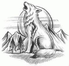 Wolf Drawings in Pencil - Bing Images