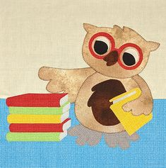 **FREE** Study Buddy - Block Pattern Pattern Blocks, Quilt Patterns, Block Patterns, News Website Design, Little Owl, Make You Smile, Service Design, Free Pattern, Whimsical