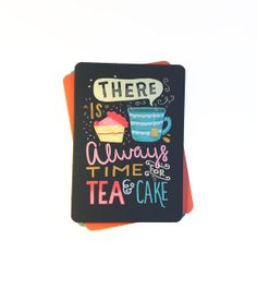 A5 Blank Notebook  'There is Always Time For Tea by stephsayshello, £3.50