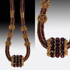 Bead Embroidery Jewelry, Beaded Jewelry, Beaded Necklace, Beaded Bracelets, Candy Necklaces, Swarovski, Beaded Ornaments, Bead Art, Making Ideas