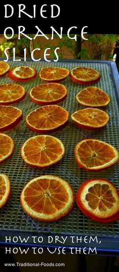 Dried Orange Slices at Traditional-Foods.com