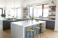 Tour the entry, great room, and kitchen of the Promontory Project!