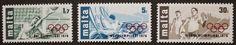 Olympic games stamps, Malta, 1976, SG ref: 559-561, 3 stamp set, MNH