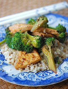 Broccoli Tofu Stir-Fry: Why This: A dish that combines three smart vegetarian choices — broccoli, tofu, and brown rice — this stir-fry will give your kids a nutritional boost full of protein, zinc, and iron. OnSugar blogger Fresh Tart adapted Melissa Ray Davis's recipe for asparagus tofu stir-fry, swapping out kiddie-fave broccoli for the asparagus. Serve atop a bed of brown rice to boost your family's daily grain intake.