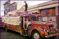 ken kesey and the merry pranksters psychedelic school bus