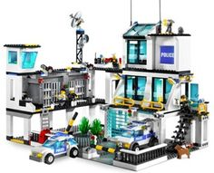 The police station at Lego City.