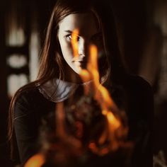 Image about girl in inspiration - witch by vittras Story Inspiration, Writing Inspiration, Character Inspiration, Book Characters, Female Characters, Xmen, Beast, Fire Element, Fantasy