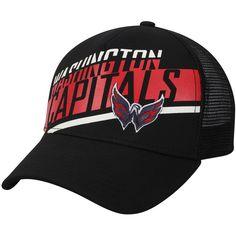 bb512d8b9e8d34 Men's Washington Capitals adidas Black Laser Trucker Adjustable Snapback Hat,  Your Price: $25.99