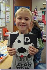 After making our opposites book we read Harry the Dirty Dog and saw how he changed from a white dog with black spots to a black dog with white spots. The kids made these cute black and white dogs after we read that story.    DSC00961 DSC00959 DSC00960