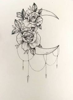 "gothicandamazing: ""Model: Maria Amanda Photographer: Lars Sivertsen Choker: D . - gothicandamazing: ""Model: Maria Amanda Photographer: Lars Sivertsen Choker: D … - Form Tattoo, Shape Tattoo, Tattoo Design Drawings, Tattoo Sketches, Drawing Designs, Moon Tattoo Designs, Flower Tattoo Designs, Trendy Tattoos, Small Tattoos"